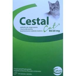 CESTAL Cat  80/20mg -...