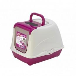 PET NOVA Cat Life Plus Toaleta dla kota 50cm - różowa