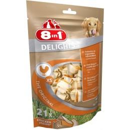 8in1 Delights Bones XS -...