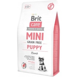 BRIT CARE Mini Puppy Lamb 2kg