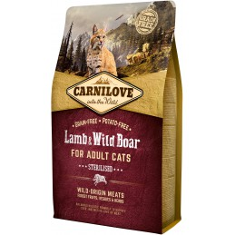 CARNILOVE CAT Lamb and Wild...
