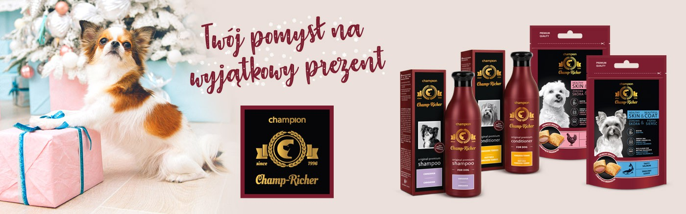 Champ-Richer to idealny pomysł na prezent!