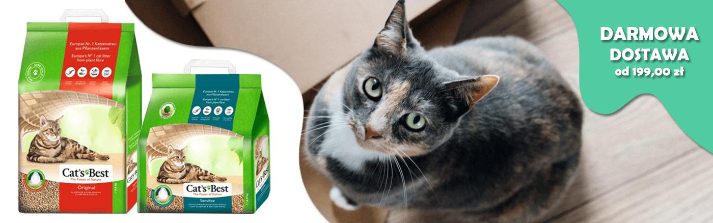 Żwirki dla kota